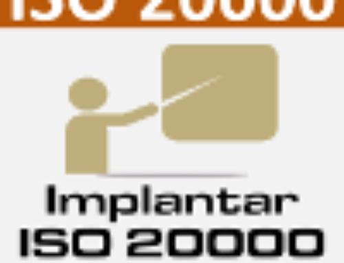 Curso ISO 20000
