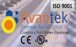 Avantek Sistemas Tecnológicos se certifica en ISO 9001