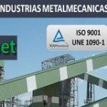 Industrias metalmecánicas OIZ se certifica en ISO 9001 y en UNE 1090-1