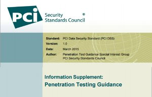 PCI DSS Penetration testing guidance