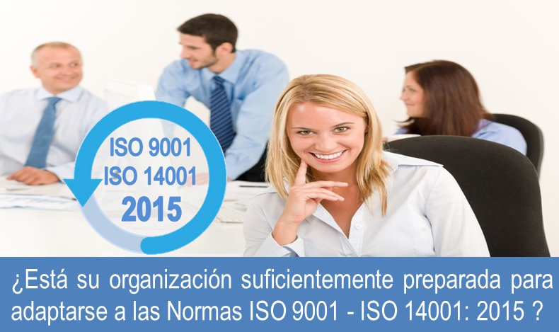 ISO 9001 2015 Obtenga un diagnóstico