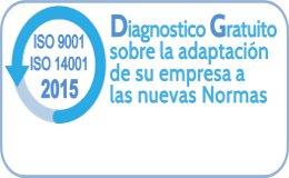ISO 9001 2015 Obtenga un diagnóstico gratuito para hacer frente al cambio