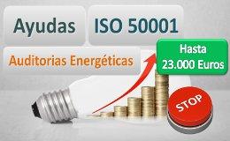 Hasta 23.000 euros para implantar ISO 50001 GALICIA