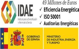 Subvenciones Eficiencia Energetica, ISO 50001 Auditorias Energéticas