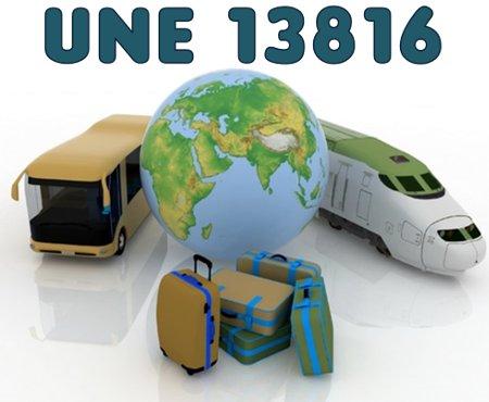 UNE 13816 Transporte público