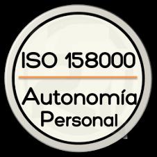 Normas ISO 158000 Promoción de la Autonomía Personal