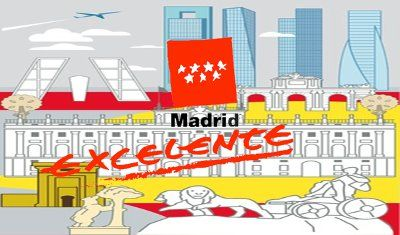 Sello Madrid Excelente