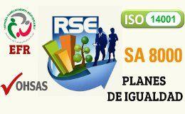 Ayudas de 2.500 euros para implantar ISO 14001, OHSAS, RSE, Planes de Igualdad en Galicia