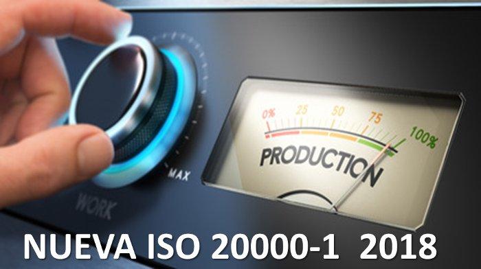 RESUMEN DE CAMBIOS PREVISTOS EN LA NUEVA NORMA ISO 20000 2018