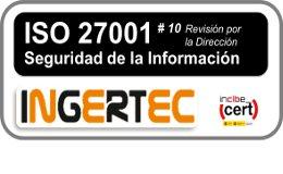 ISO 27001 REVISION POR LA DIRECCION