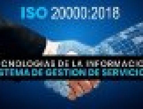 Nueva ISO 20000 2018