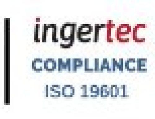 Compliance: Ingertec inicia la fase final de su certificación.