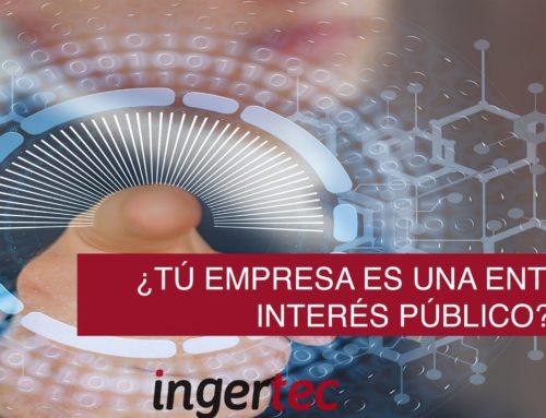 ¿Sabes si tu empresa es una entidad de interés público?