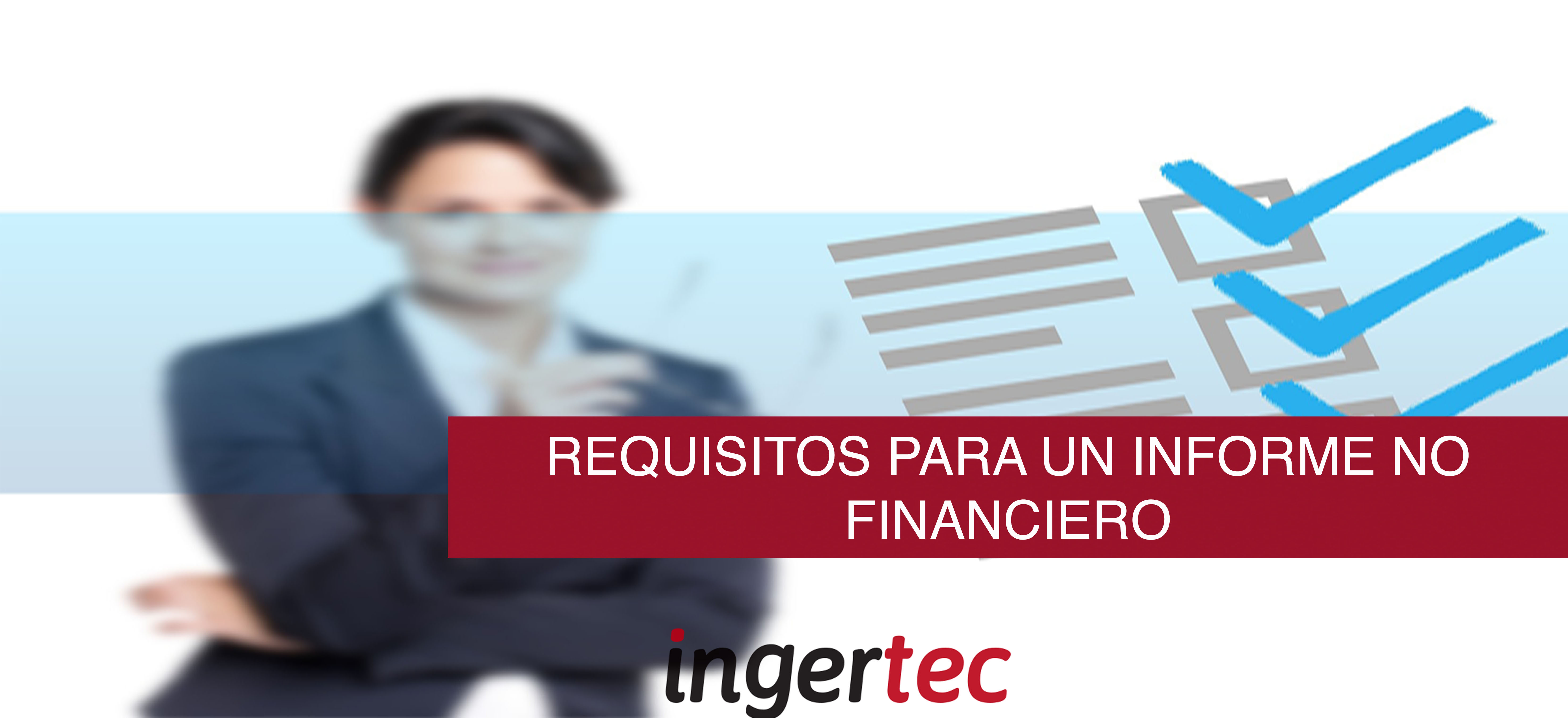 información no financiera