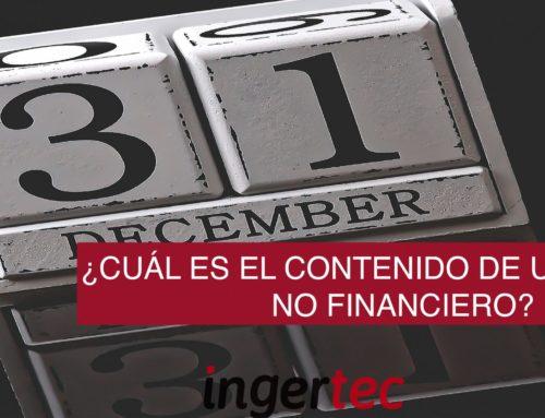 ¿Cuál es el contenido de un Informe No Financiero?