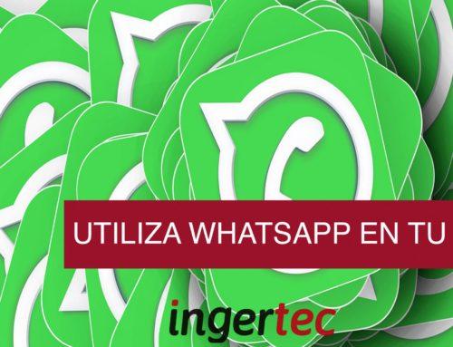 Utiliza WhatsApp en tu empresa