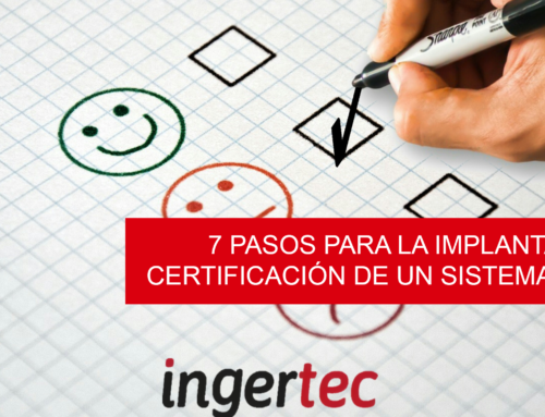 7 pasos para la implantación y certificación de un sistema de gestión
