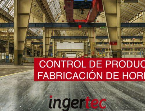 Control de producción de los hormigones fabricados en central