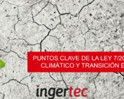 Ley 7/2021 cambio climático y transición energética