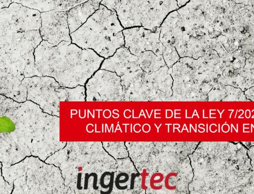 Puntos clave de la Ley 7/2021 de cambio climático y transición energética