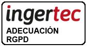 sello Ingertec cumplimiento RGPD